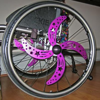 Wheelchair Spinners
