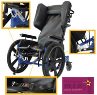 Encore Pedal Wheelchair